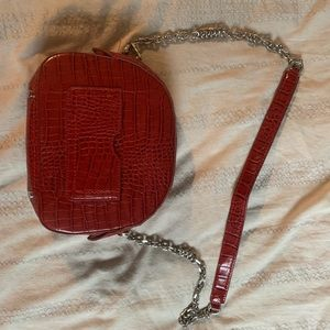 New Zara Red Cross body bag